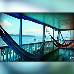 It's Saturday- take a load off at #bubbashouse in #bastimentos  #bocasdeltoro #panama #vacation #caribbenlife