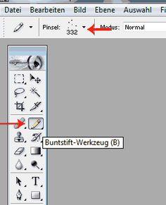 Photoshop_ Einiges an verständlichen Tutorials in Deutsch. Z.B. Eigene Werkzeugspitzen erstellen