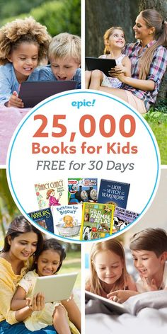 Epic! is the leading digital library for kids, where kids can explore their interests and learn with instant, unlimited access to 25,000 high-quality ebooks, audiobooks, learning videos and quizzes for kids 12 and under. Parents - start your free trial today!