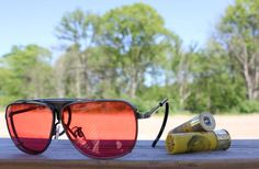 Trap Shooting Tech // A colorful look at Randolph Engineering's target enhancing eyewear. By Graham Hiemstra for Cool Hunting. Skeet Shooting, Trap Shooting, Shooting Sports, Randolph Engineering, Clay Pigeon Shooting, Sporting Clays, Senior Photos, Senior Portraits, Cool Pictures