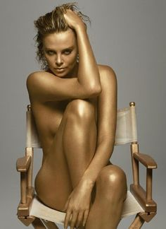 Words cannot describe Charlize Theron...
