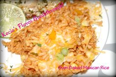 Oven Baked Mexican Rice