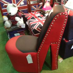 Shoe shaped couch