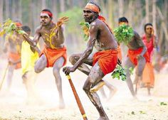 Australia was first inhibited by the indigenous people called the Aborigines.