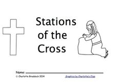 Free Stations of the Cross booklet for Lent. It was written and illustrated by a kindergarten teacher for young children. This is a great prayer to be used during the season of Lent. Teachers Pay Teachers Freebies, Classroom Freebies, Kindergarten Teachers, Religion Activities, Teaching Religion, Ccd Activities, Easter Activities, Catholic Kids, Religious Education