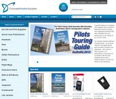 Leading #pilot #supplies and #aviation #accessories supplier. Our #online #shopping #software takes to the skies here with a very popular and constantly expanding online shop.