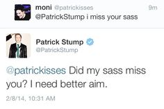 Patrick Stump | quote/tweet