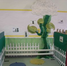 Jack and the Bean Stalk Display, classroom display, class display, Story, book, bean stalk, reading, magic, Early Years (EYFS), KS1 & KS2 Primary Resources