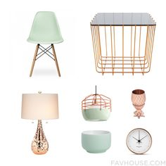 Homeware Tips Featuring Ciel Dining Chair Copper Table Kathy Ireland Table Lamp And Incandescent Lamp From March 2016 #home #decor