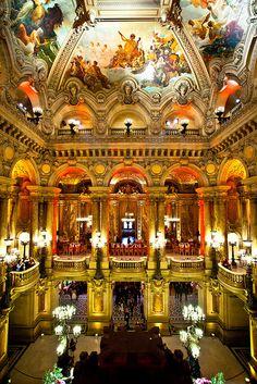 Paris. Palais Garnier. A night at the opera // Flickr by KP!!!