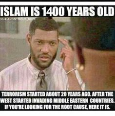 Islam has been around for over 2000 years.  Terrorism started about 20 years ago after the West started invading Middle Eastern Countries.  If you're looking for the root cause, it's here.