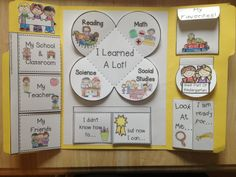 End of year lapbook to make with PreK-2