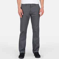 Volcom Frickin Mod Stretch Pants - Charcoal Heather