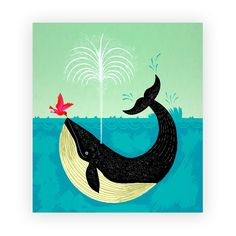 """Lovethesign - Stampa """"The Bird and The Whale"""""""