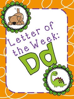 Letter of the Week: Dd