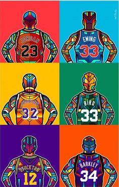 NBA-Legenden – Barış Yılmaz – Join the world of pin Basketball Posters, Basketball Art, Basketball Pictures, Basketball Legends, Pop Art Posters, Poster Prints, Basket Nba, Poster Online, Art Prints Online