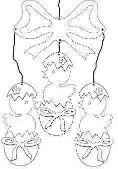 Paasmobile met kuikens -- categorie: Pasen