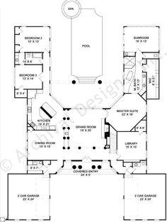 Pingree House Plan First Floor Plan