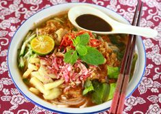 Penang's famous Asam Laksa - family recipe on Season with Spice