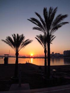 San Antonio Ibiza's famous sunset