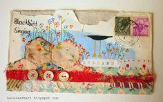 envelope artwork by hens teeth, via Flickr