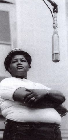 Big Mama Thornton- isn't she the originator of the song ain't Nothin' but a Hound Dog?