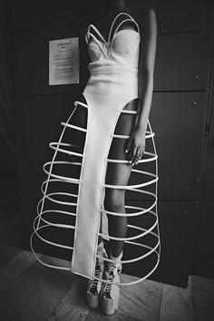 skirt cage — Chromat