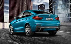 The BMW X6 in Sparkling Storm Brilliant Effect metallic