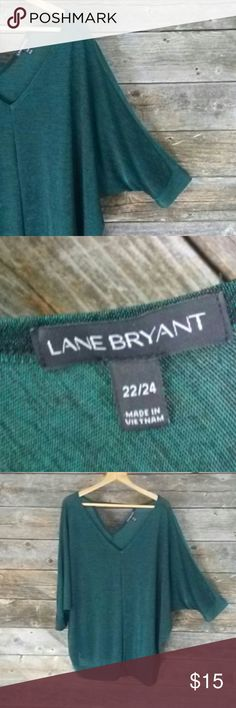 Lane Bryant 22/24 Stretch Comfy Top Lane Bryant 22/24 Stretch Comfy Top. Triangle Key Hole back detail. Seriously grab your leggings or jeans and chill. Lol  **Please take a look at my other LB items**  **All Lane Bryant cloths below $15.** Lane Bryant Tops