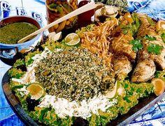 Peixe pedra com arroz de cuxá, uma delícia da culinária Maranhense!!