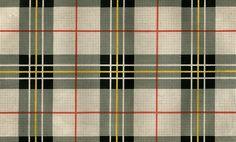 1849 Antique Print Scotland Tartan clan Macpherson handcolored engraving Scottish Scotch genealogy. $15.00, via Etsy.