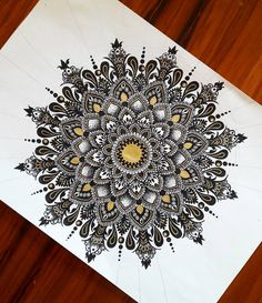 "423 Likes, 15 Comments - Tasneem Abdulla (@tasneem.abdulla) on Instagram: ""People keep saying my mandalas look the same.. what do you think?... #art_perspective…"""