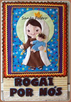 Painel Nossa Senhora Do Carmo | Santo Feltro - Edilmara Santiago | Elo7