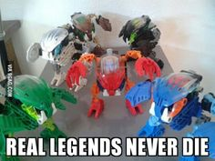 To the guy's who posted their old Bionicles