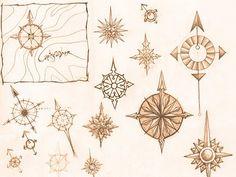 OINKFROG blog: Compass Sketching