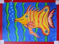 tropical fish - Brooklyn Art Project
