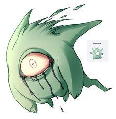 Pokemon fusion - Gengar Magnemite