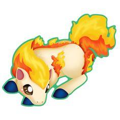 Ponyta by KaitlynClinkscales
