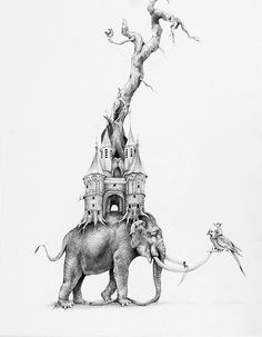 drollgirl: Drawings by Adonna Khare