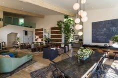 Patrick Dempsey House Tour - Its Overflowing