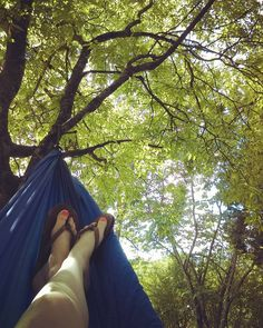 Every afternoon I always find myself getting my hammock out and relaxing in the backyard waiting for Tyler to get home from work  most relaxing spot at the house! #hammocklife #nature #summerdays #sorelaxing #peacefulcountryside by @anc_21