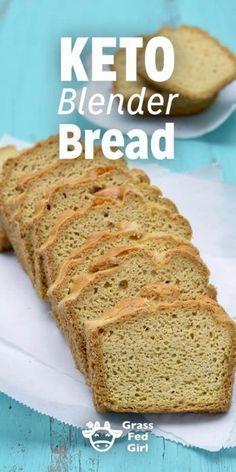 Easy Low Carb Keto Blender Bread Recipe
