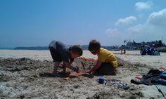 Sun, sea and sand in Saint-Cast le Guildo, Brittany