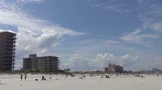 339. Америка. Атлантический океан. Флорида. Берег, пляж.