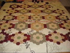 The Great Hexagon Quilt - Along too!!