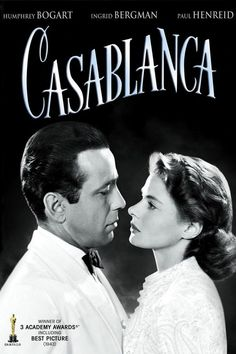Casablanca Movie, Casablanca 1942, Ingrid Bergman Casablanca, Beau Film, Humphrey Bogart, Old Hollywood Stars, Classic Hollywood, Vintage Hollywood, Hollywood Glamour