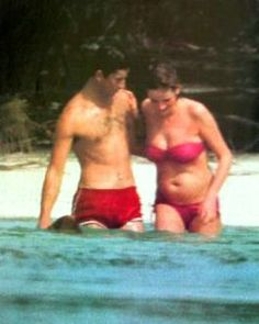Diana pregnant with Prince William.