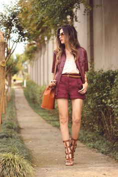 FashionCoolture - 21.10.2015 look du jour Amaro burgundy (1)