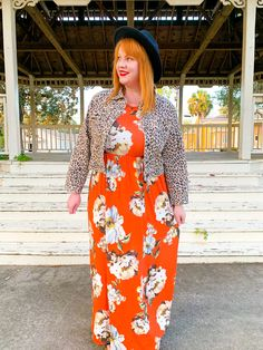 Plus Size Maxi, Plus Size Dresses, Sexy Dresses, Plus Size Outfits, Orange Fashion, Plus Size Fashion For Women, Basic Tops, Orange Dress, Autumn Winter Fashion