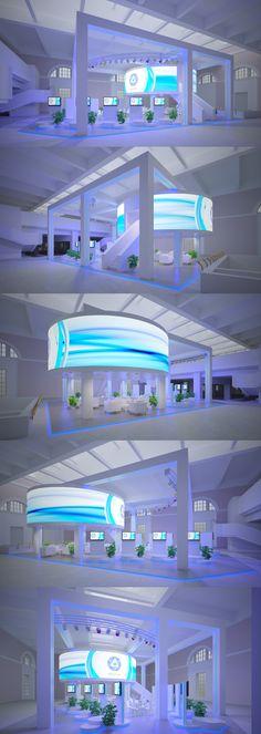 ROSATOM. Exhibition Stand Design on Behance